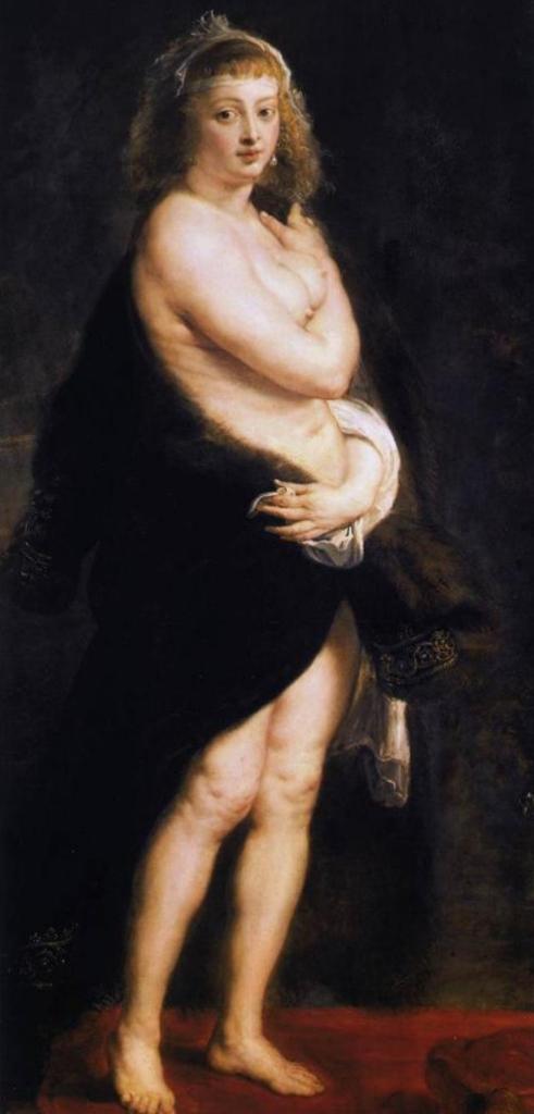 Венера в шубе - Питер Пауль Рубенс (ок. 1630-1640 Музей истории искусства, Вена)