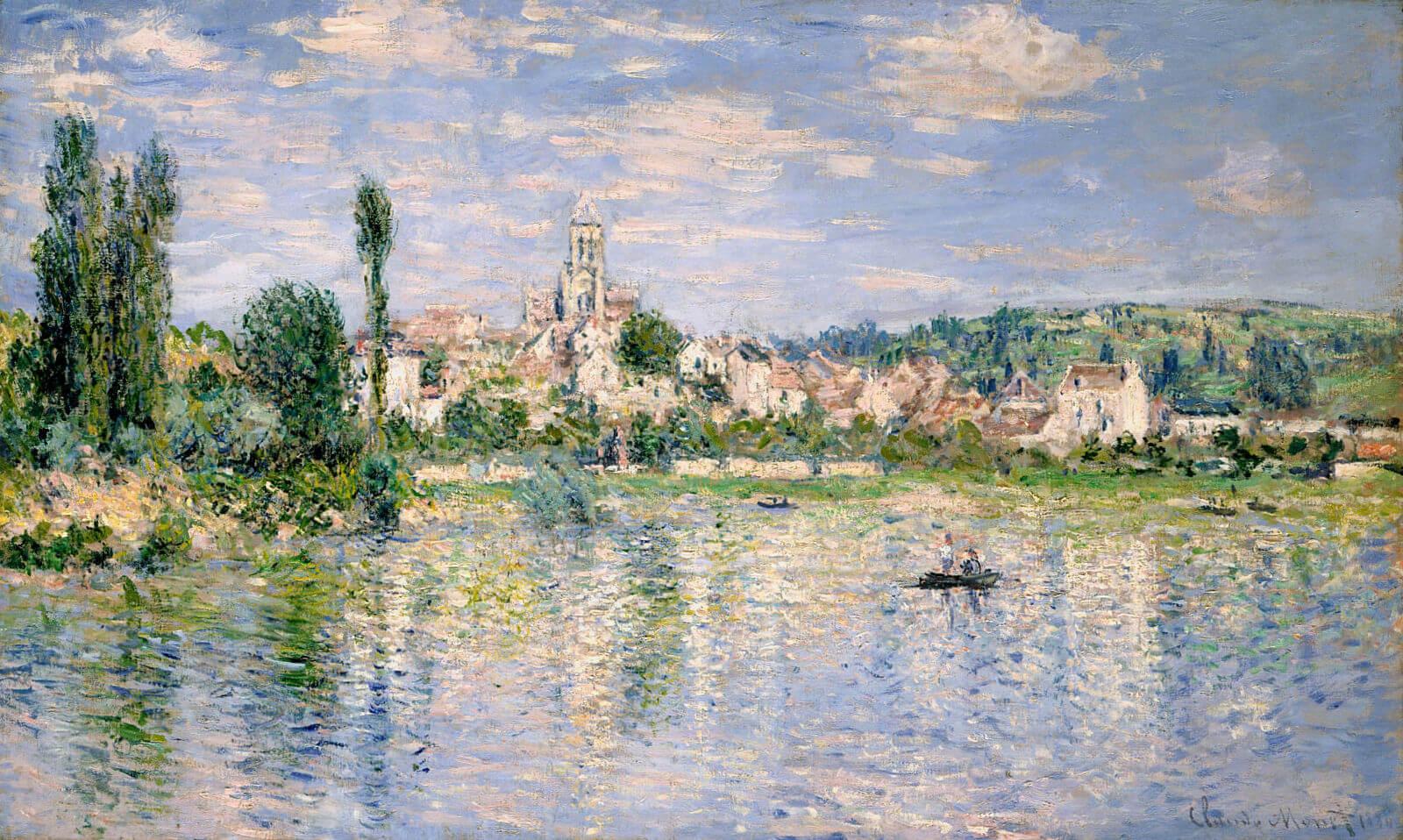 Ветёй летом - Клод Моне (1880, Метрополитен-музей, Нью-Йорк)