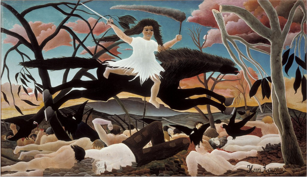 Война - Анри Руссо(1893)