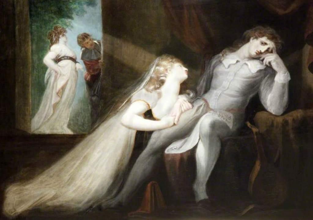 Возвращение жены Мильтона - Генрих Фюcсли (1798 -1799)