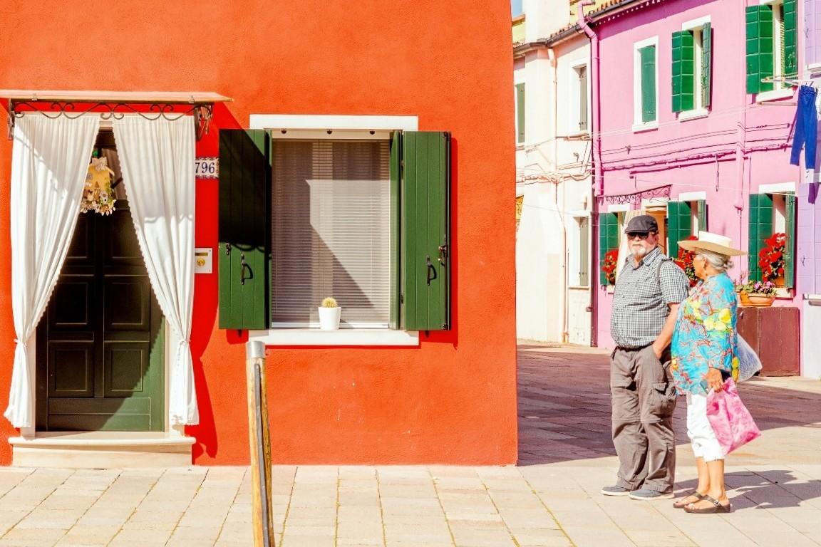 Яркие цвета острова-квартала Бурано 2