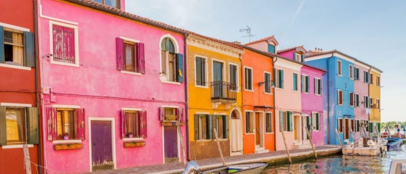 Яркие цвета острова-квартала Бурано