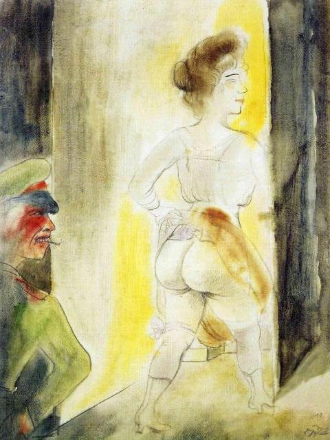Яв Брюсселе - Отто Дикс (1919)