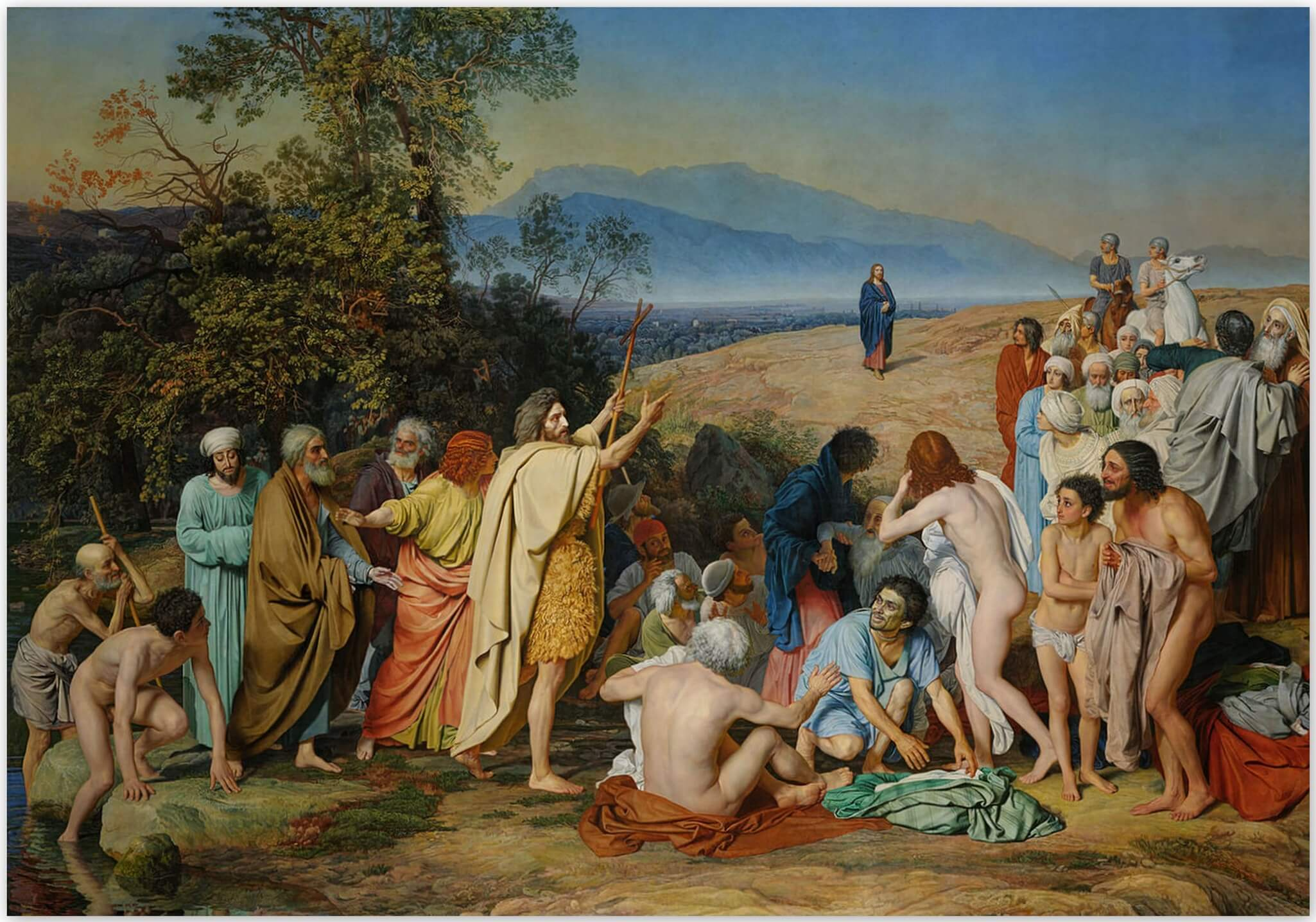 Явление Христа народу - А. И. Иванова (1837 – 1857)
