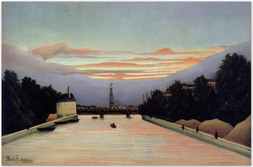 Эйфелева башня - Анри Руссо (1898)
