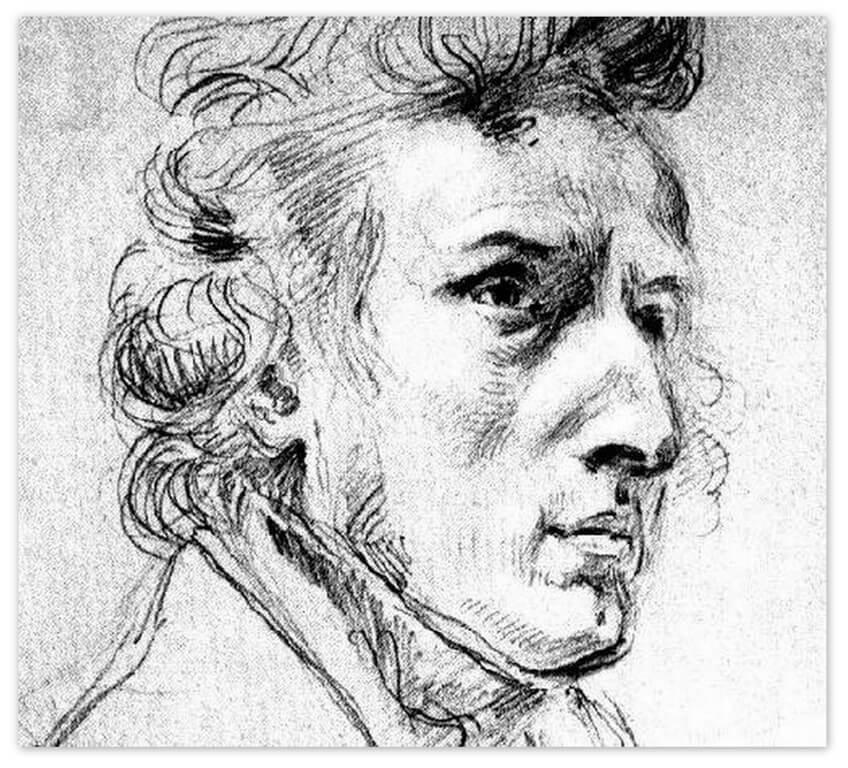 Эжен Делакруа - Шопен (1838)