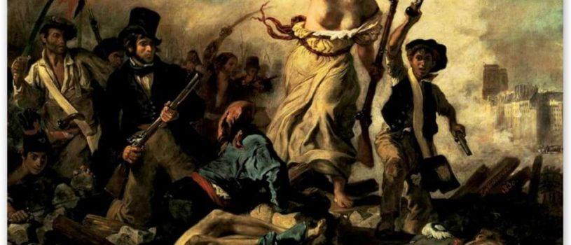 Эжен Делакруа, картины наполненные романтизмом