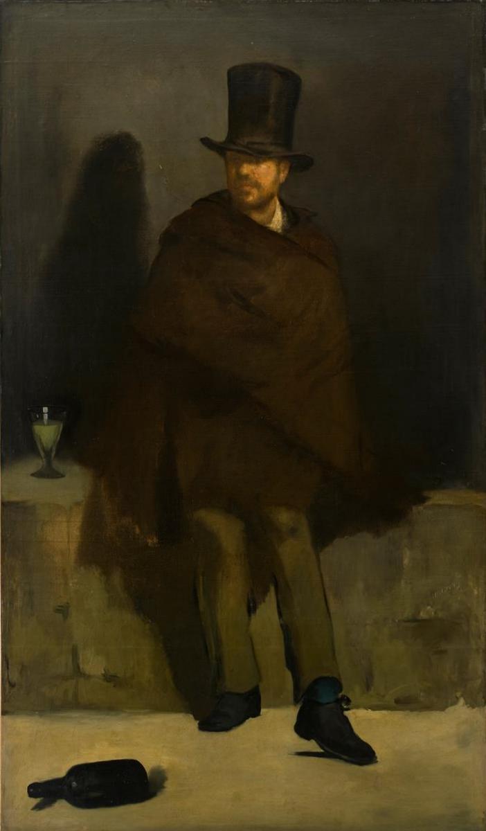 «За стаканом абсента» - Эдуар Мане (1858)