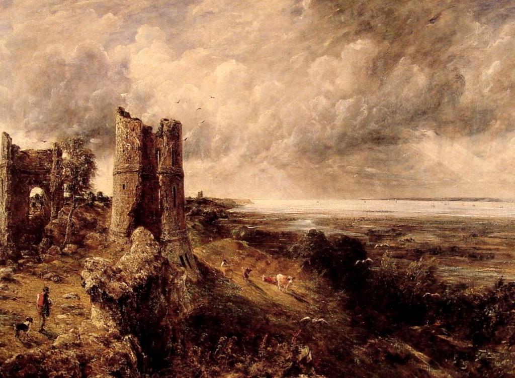 Замок Хэдли - Джон Констебл (1829)