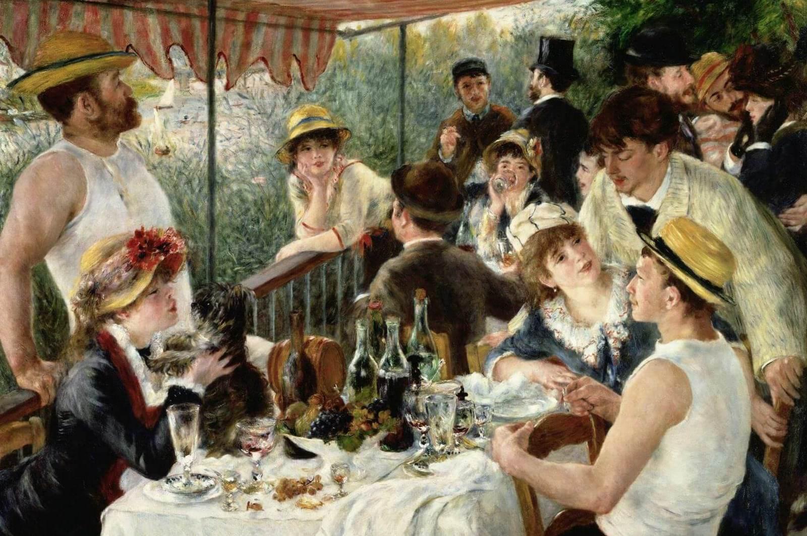 Завтрак гребцов - Пьер Огюст Ренуар (1881, собрание Филлипс, Вашингтон)