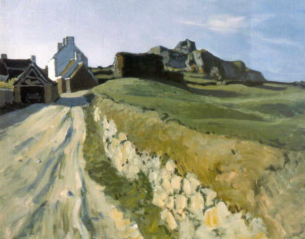 Александра Бенуа - Бретонский пейзаж (1906 г.)