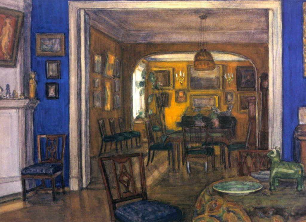 Александра Бенуа - Интерьер (1900-е гг.)