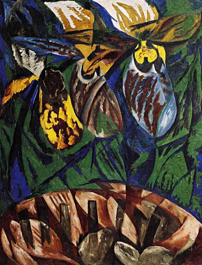 Гончарова Наталья Сергеевна - Орхидеи (1913г)