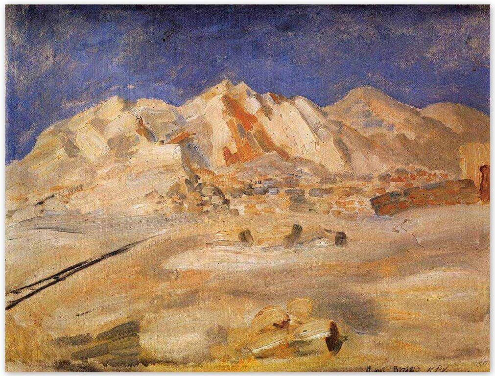 Петров-Водкин Кузьма Сергеевич - Бириби. Африка (1907)