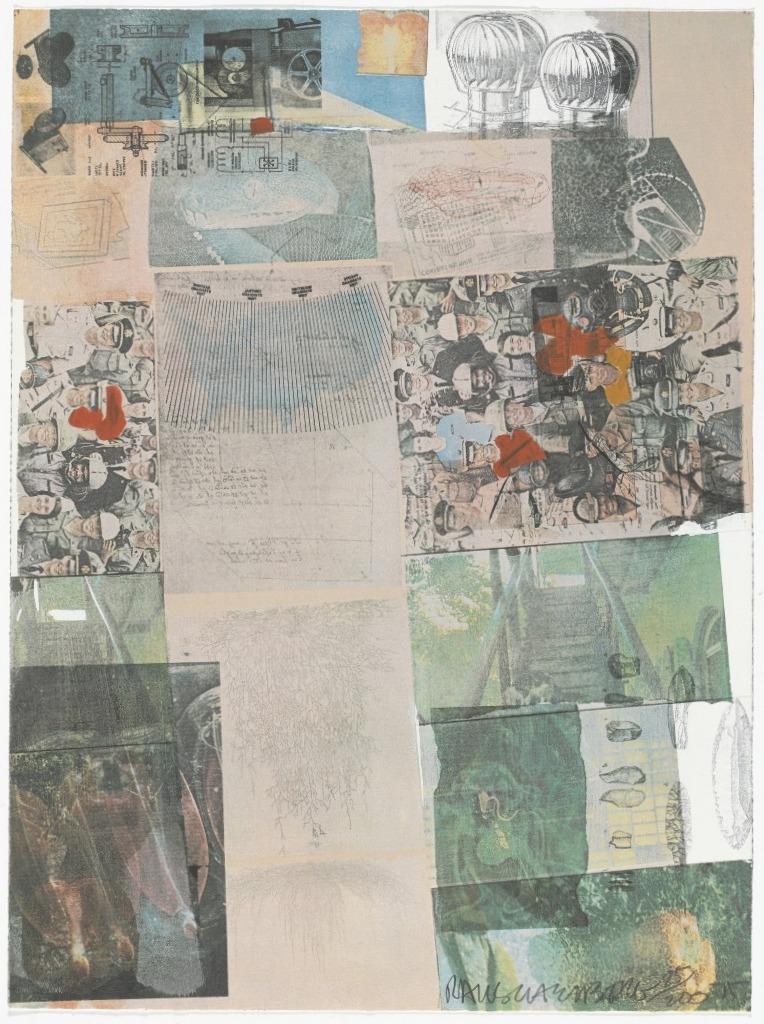 Роберт Раушенберг — картины и творчество американского художника 1