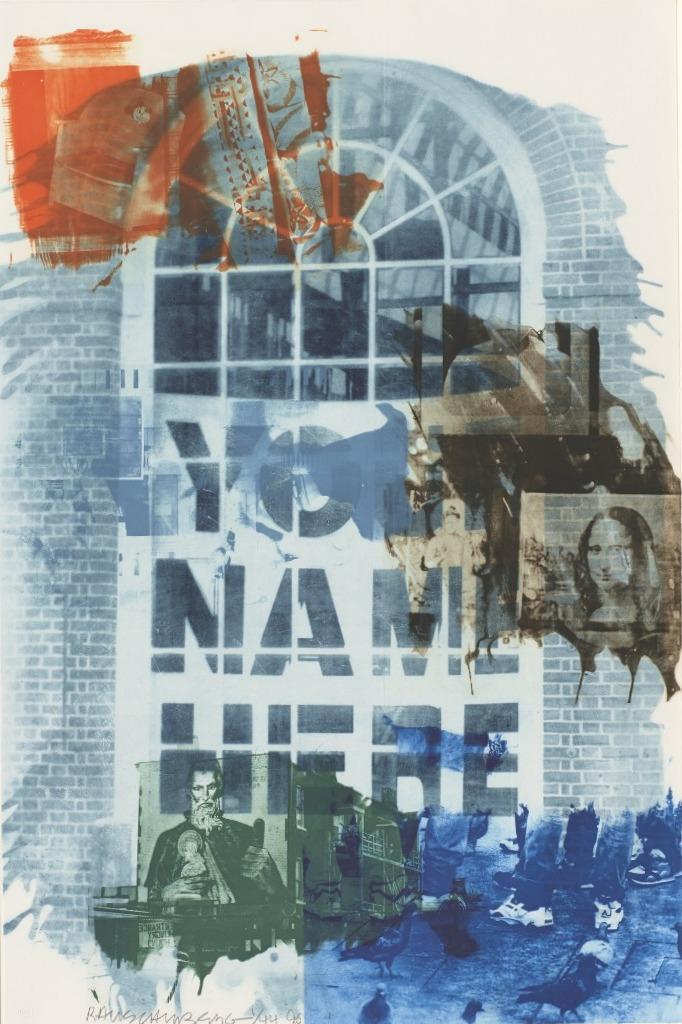 Роберт Раушенберг — картины и творчество американского художника 5
