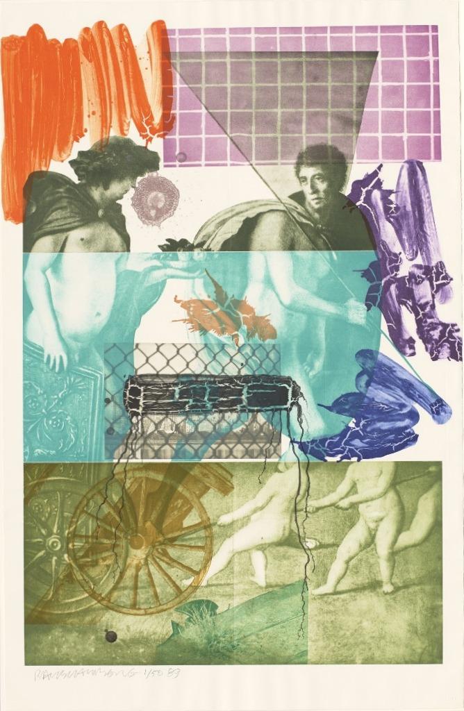 Роберт Раушенберг — картины и творчество американского художника 6