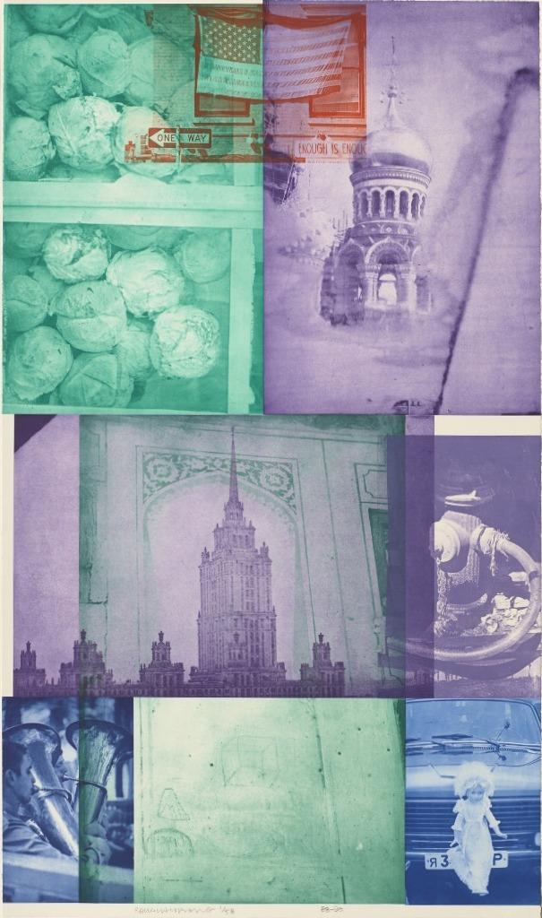 Роберт Раушенберг — картины и творчество американского художника 7