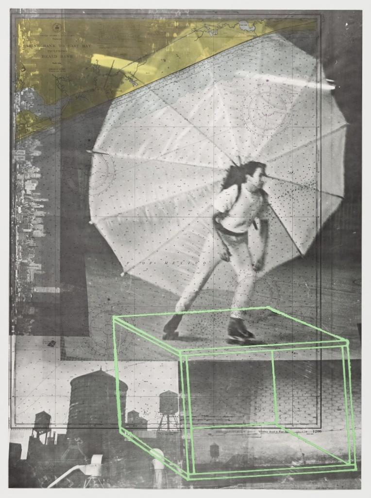 Роберт Раушенберг - Панно из автобиографии (1968, Литография офсетная, 163.8 × 123.6)