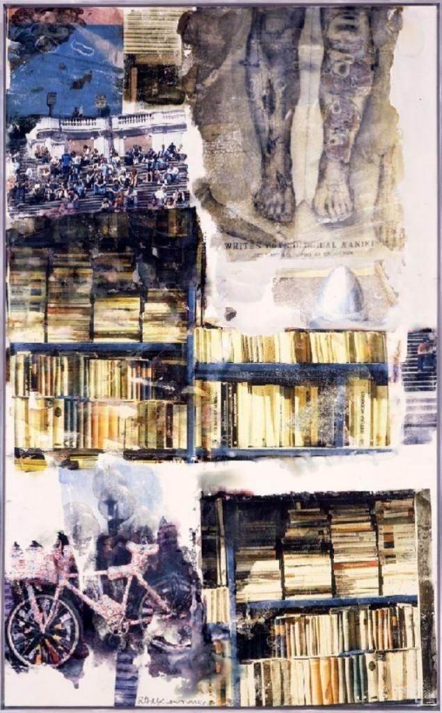 Роберт Раушенберг - Урожай Книжных Червей 1998