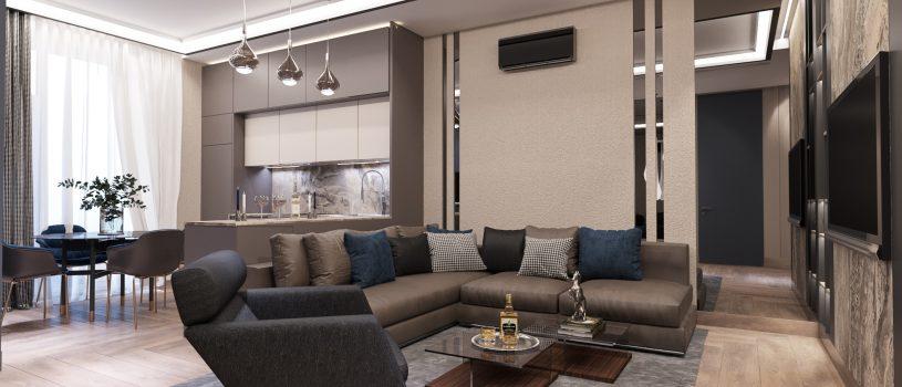 Доступный дизайн квартир под ключ для всех клиентов компании stroyhouse.od.ua