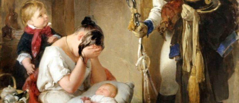Почему плачет эта женщина на картине