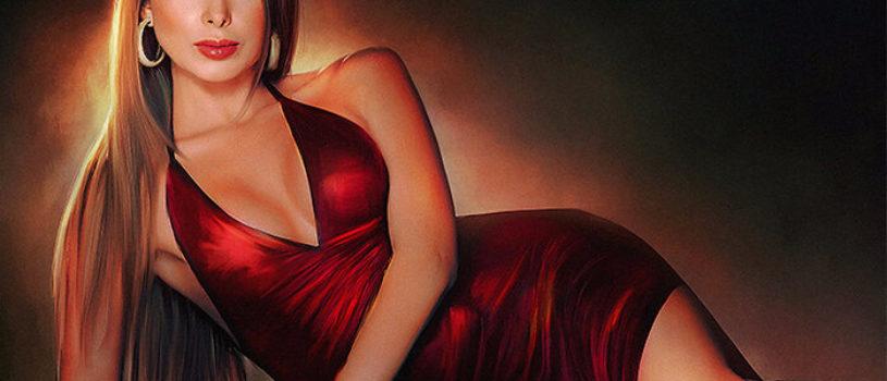 Ужасно красивые. Цифровая живопись воспевающая женскую красоту (Амро Ашри)