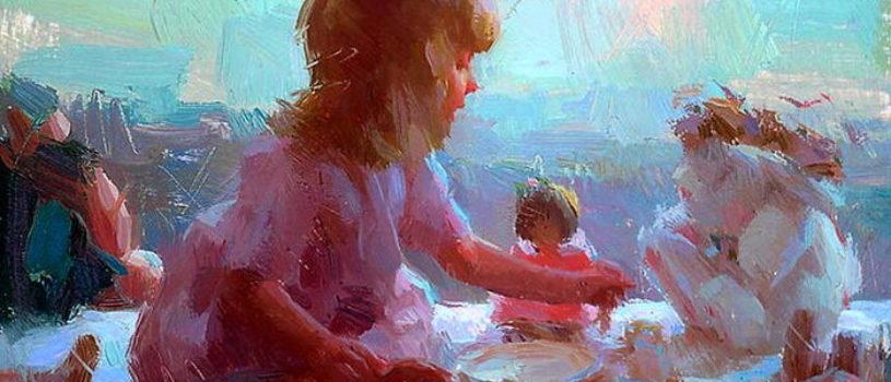 Вдохновение: прекрасные картины современной художницы Сьюзен Лион