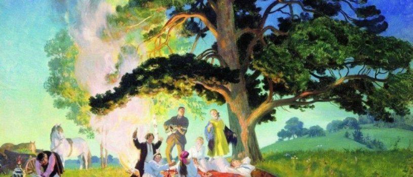 Почему этот сказочный пикник Кустодиева был лишь в его мечтах