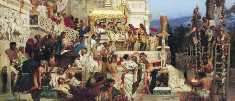 Светочи христианства. Факелы Нерона