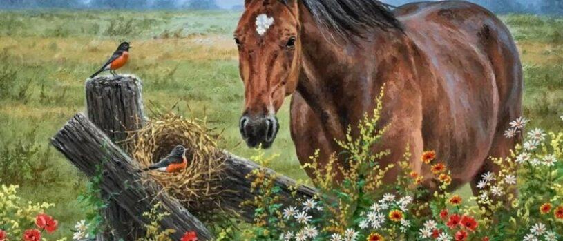 Лошади в картинах художников