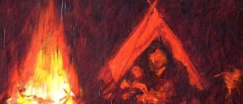 Пленящий огонь в живописи. Сможете ли вы его ощутить?
