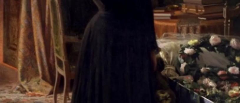 Кем является женщина на картине Крамского «Неутешное горе», и о чем она плачет