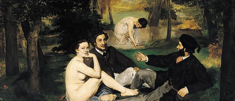 «Завтрак на траве»: картина Мане, которую многие мужья запрещали смотреть женам